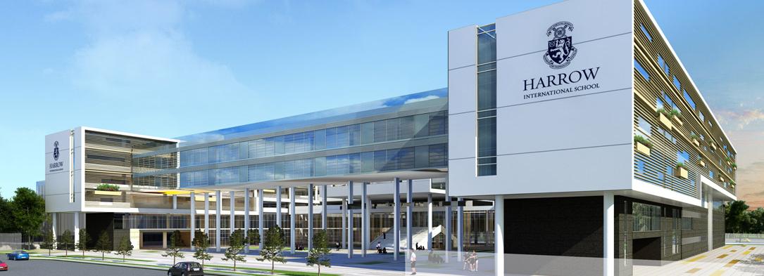 New campus of Harrow International School Shanghai
